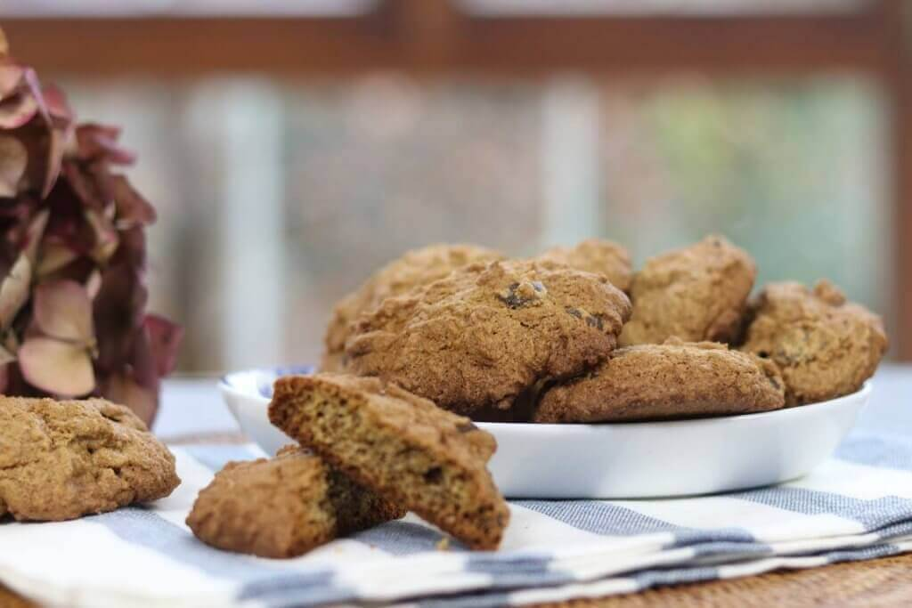 Receitas de biscoitos saudáveis