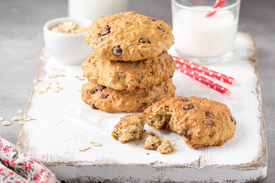 5 receitas de biscoitos saudáveis para o lanche