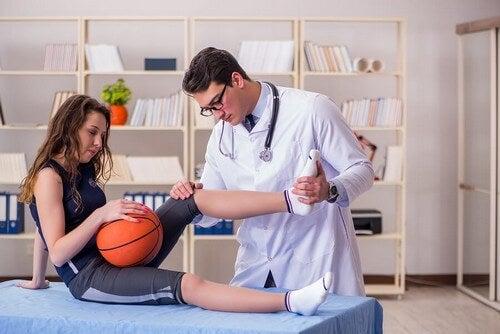 As lesões mais comuns no basquete