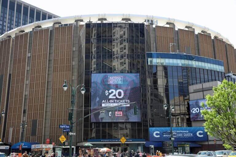 Conheça o mítico Madison Square Garden