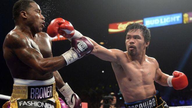 Pacquiao, rei de uma das categorias do boxe.