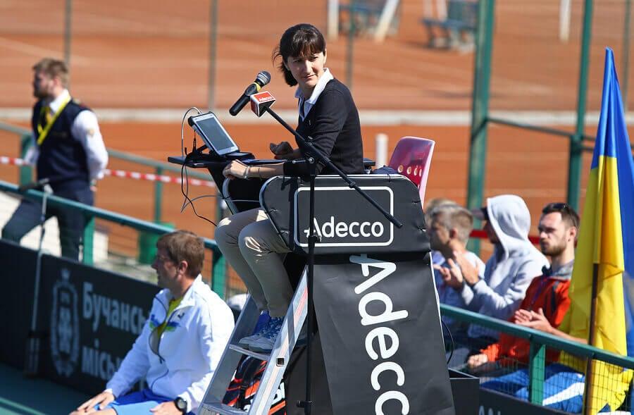 Quais as sanções disciplinares no tênis?