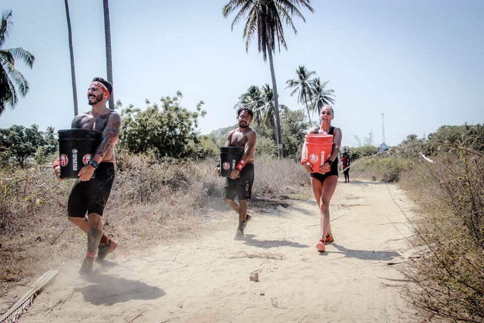 obstáculos da Spartan Race