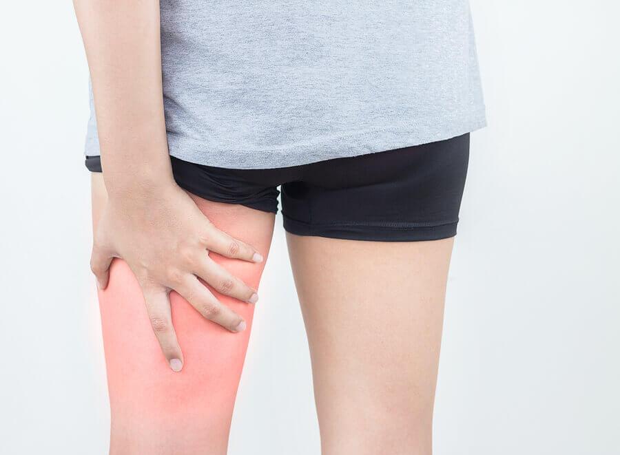 Quais lesões afetam os músculos isquiotibiais?