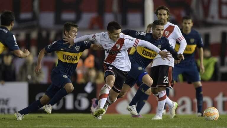 História da rivalidade Boca-River no futebol argentino
