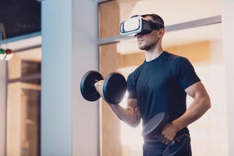 A realidade virtual no esporte