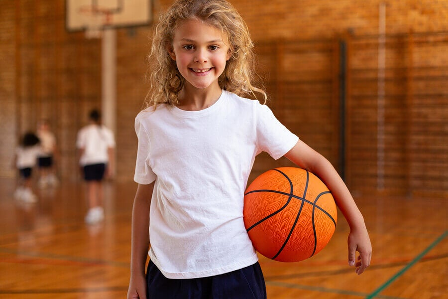 Crianças com grandes habilidades esportivas