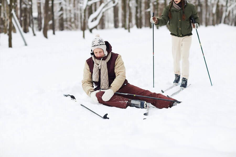 6 dicas para evitar lesões no joelho ao esquiar