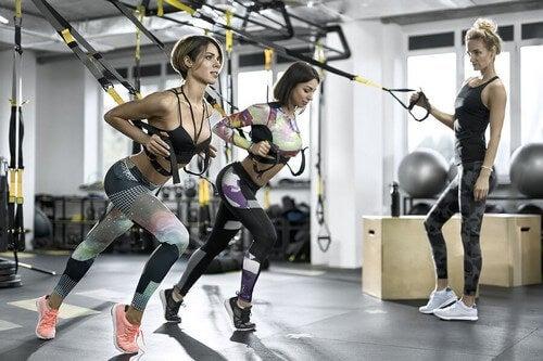 Que tipos de exercício podem ser feitos com o TRX?