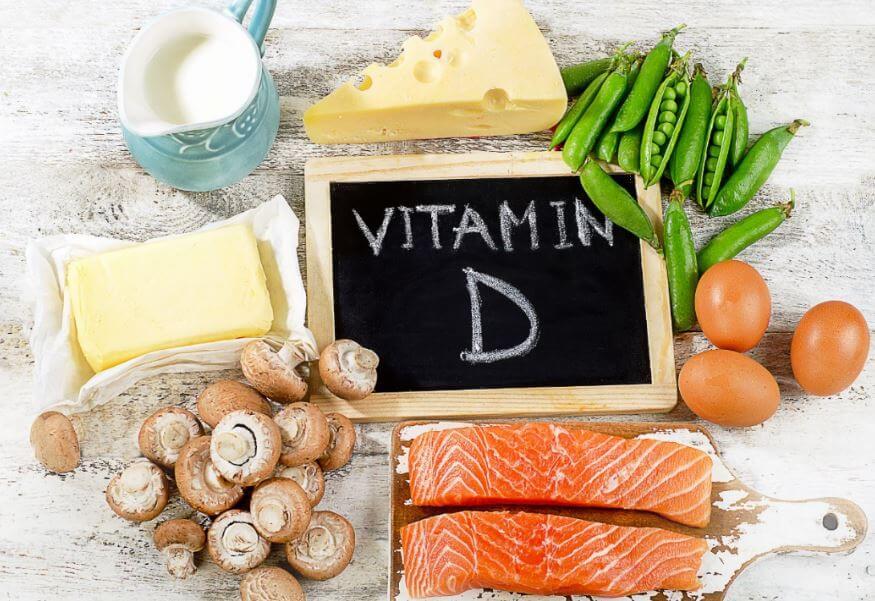 Alimentos ricos na vitamina D