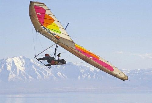 Os esportes aéreos exigem capacidade física, habilidade, destreza e autoaperfeiçoamento