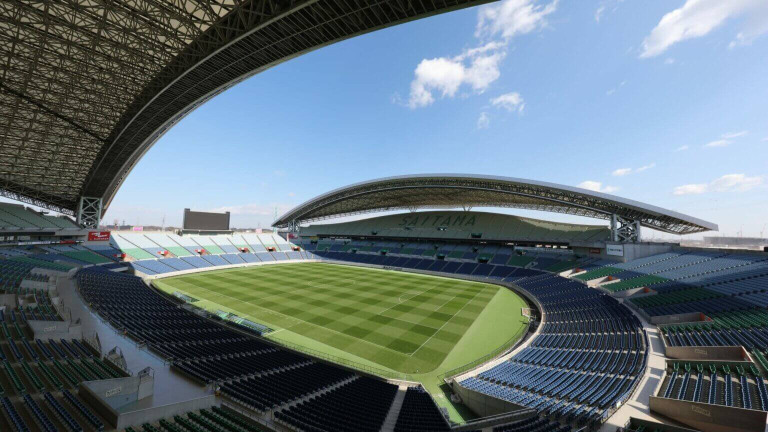 O estádio de Saitama é um dos palcos do futebol nas Olimpíadas de Tóquio 2020.