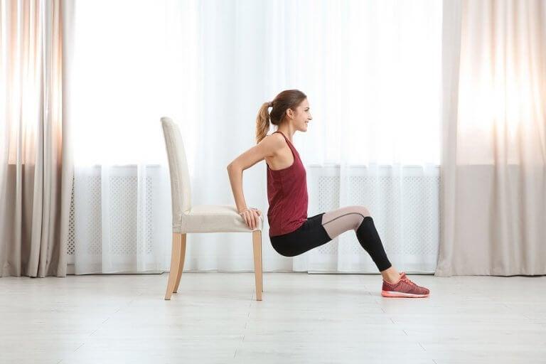 Objetos que você pode usar para fazer exercícios em casa
