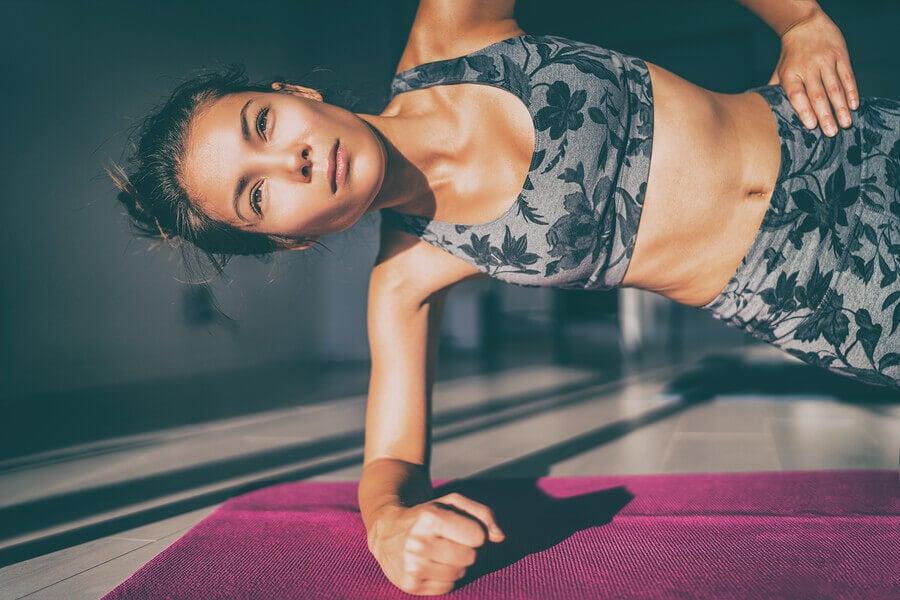 Prancha abdominal: um exercício eficaz para fortalecer o abdômen