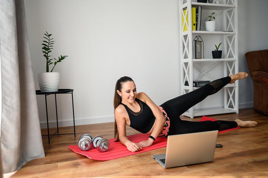 Como manter os músculos durante a quarentena?