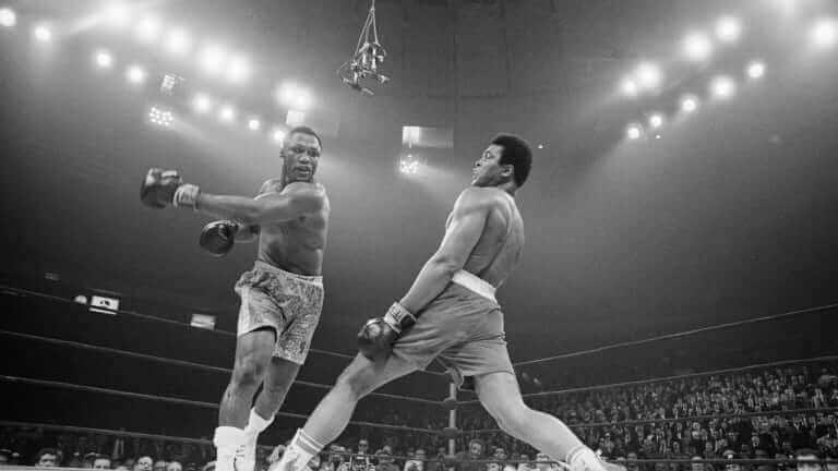 Luta entre Ali e Frazier