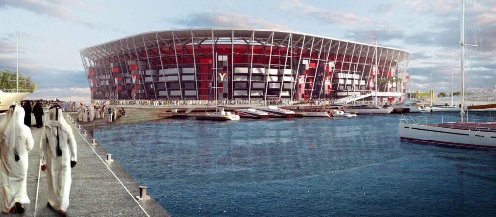 Copa do Mundo de 2022 no Catar: Estádio Ras Abu Aboud