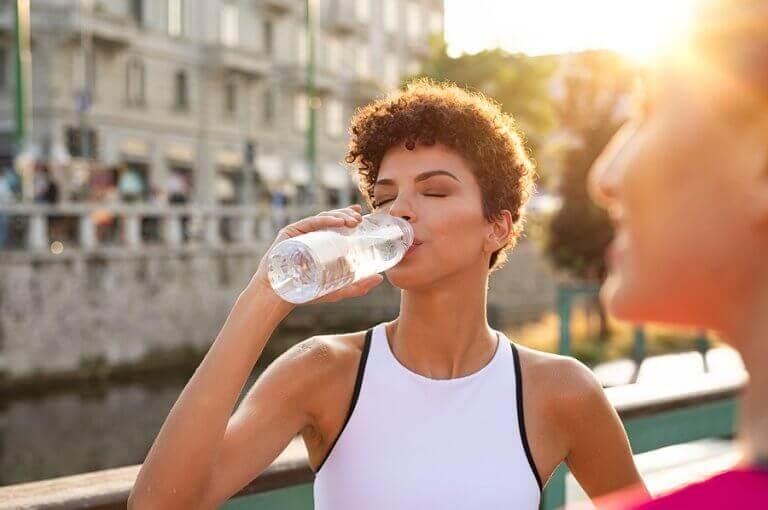 Hidratação em climas quentes: dicas para caminhadas