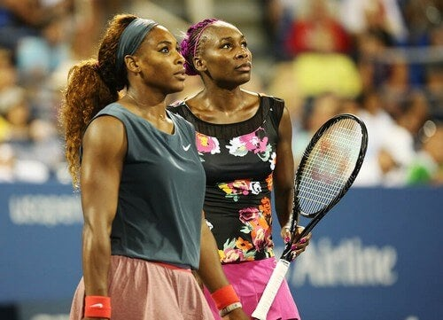 Venus e Serena Williams são a dupla mais conhecida do tênis feminino desde o final dos anos 90