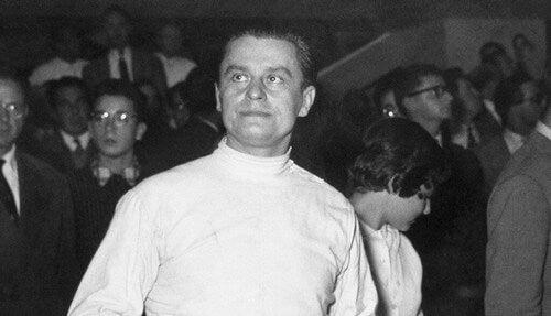 Aladar Gerevich foi um esgrimista especialista nas modalidades florete e sabre