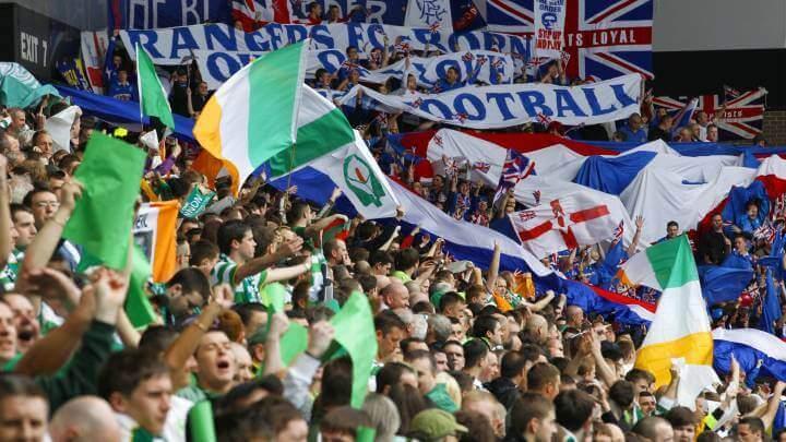 Partida Celtic e Rangers