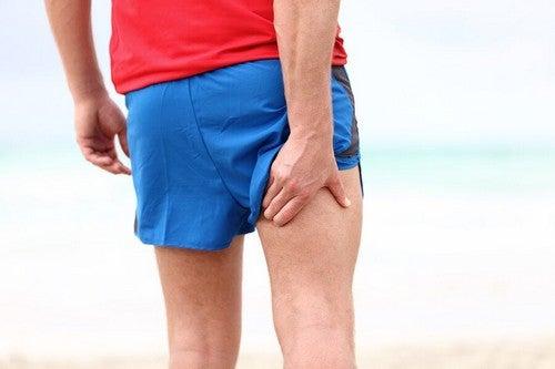 Sintomas da síndrome compartimental por exercício