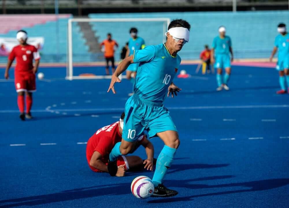Esportes para deficientes visuais