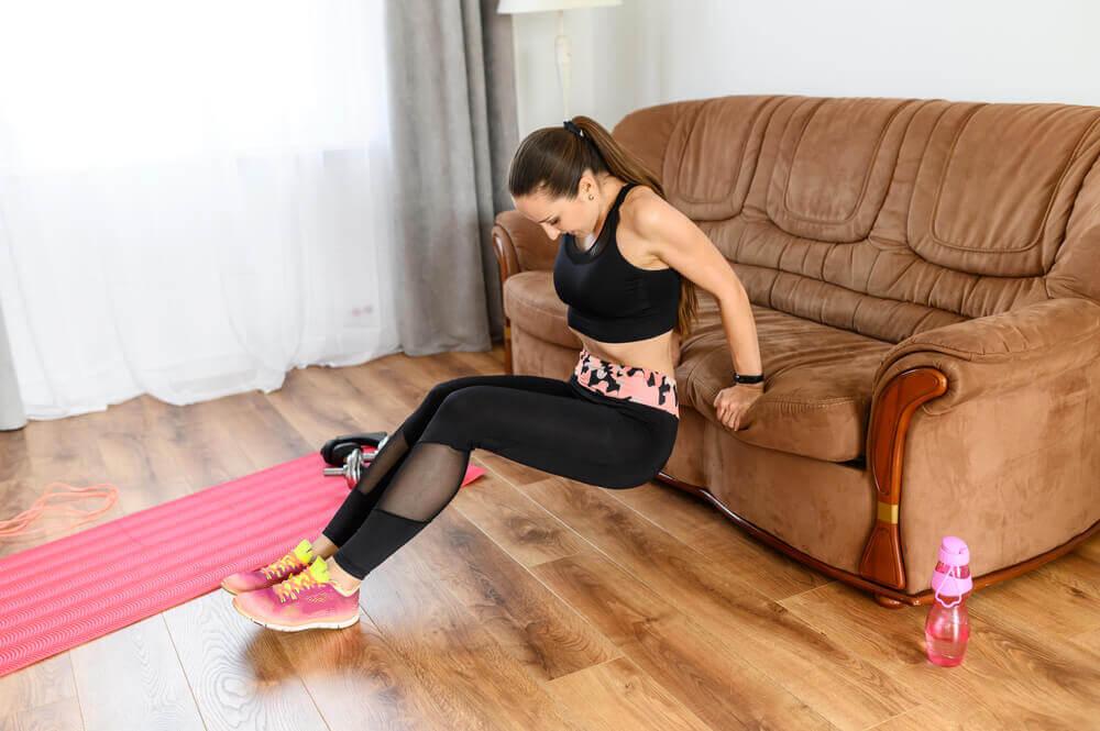 Circuito de treino funcional em casa