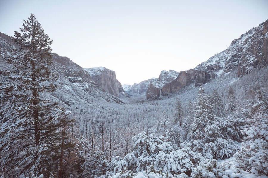 Yosemite, localizado na Califórnia, é um dos parques mais conhecidos dos Estados Unidos. Lá, até os escaladores mais experientes se intimidam com as grandes paredes verticais ao redor do vale