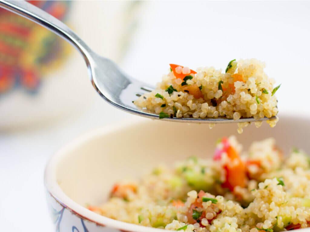 Benefícios de adicionar a quinoa à dieta