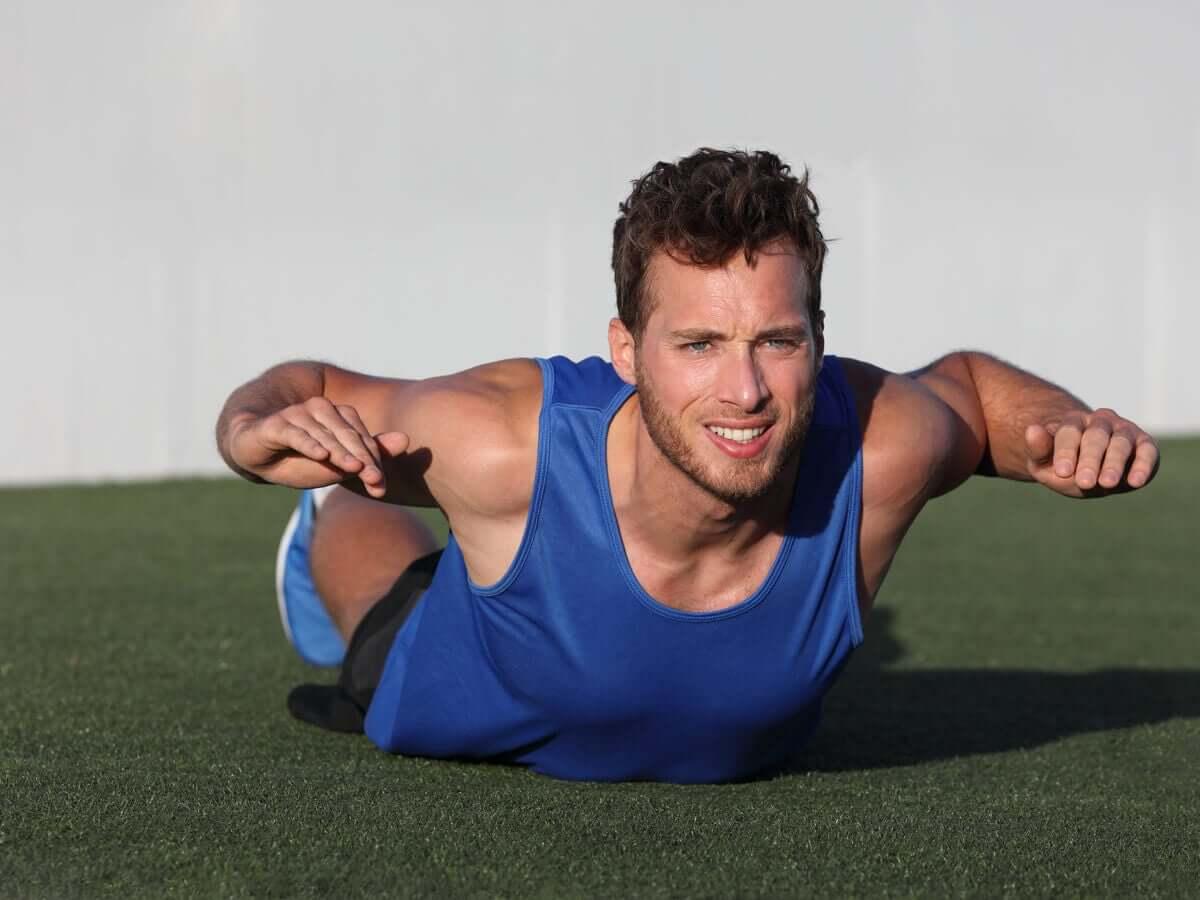 Exercícios para a parte superior do corpo para correr