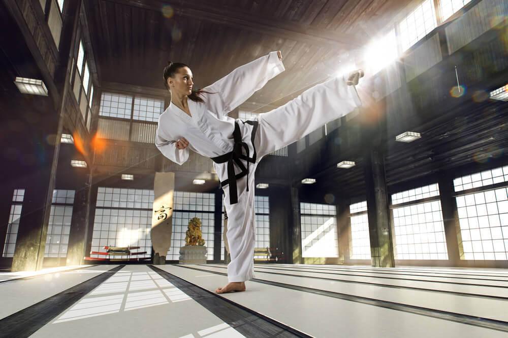 Características da prática de artes marciais