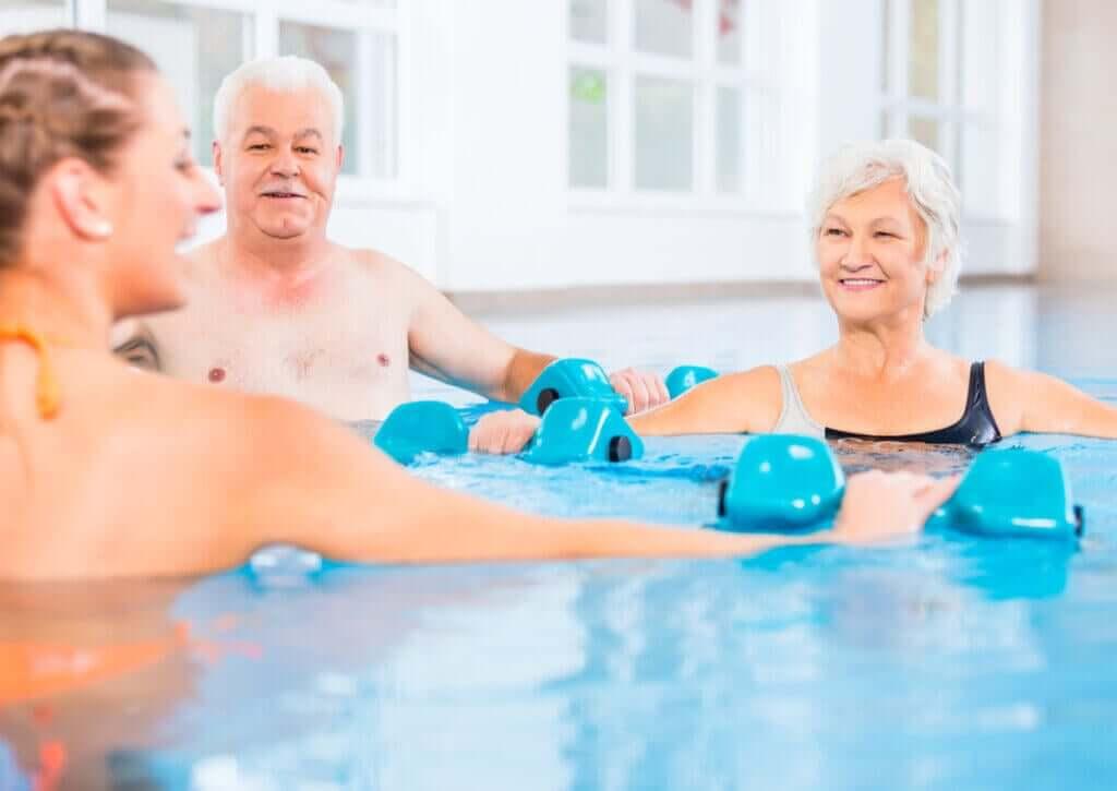 Quais são os benefícios da hidroterapia?