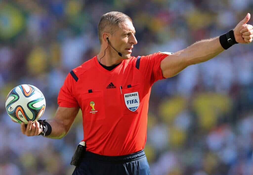 Os árbitros das finais da Copa do Mundo