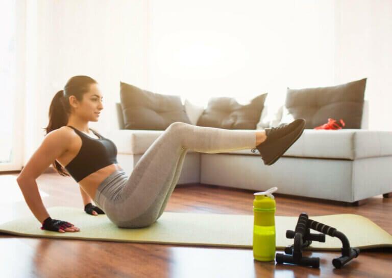 4 exercícios abdominais para definir os oblíquos