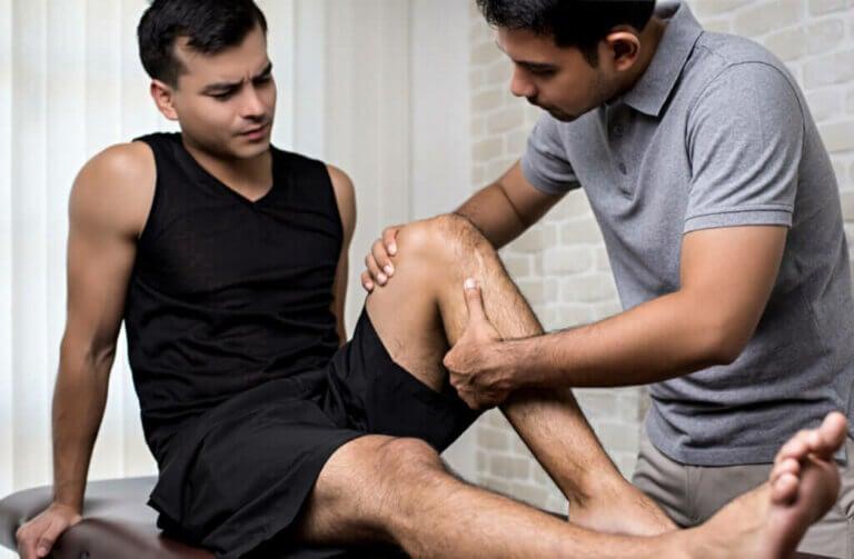 Como tratar uma entorse no joelho?
