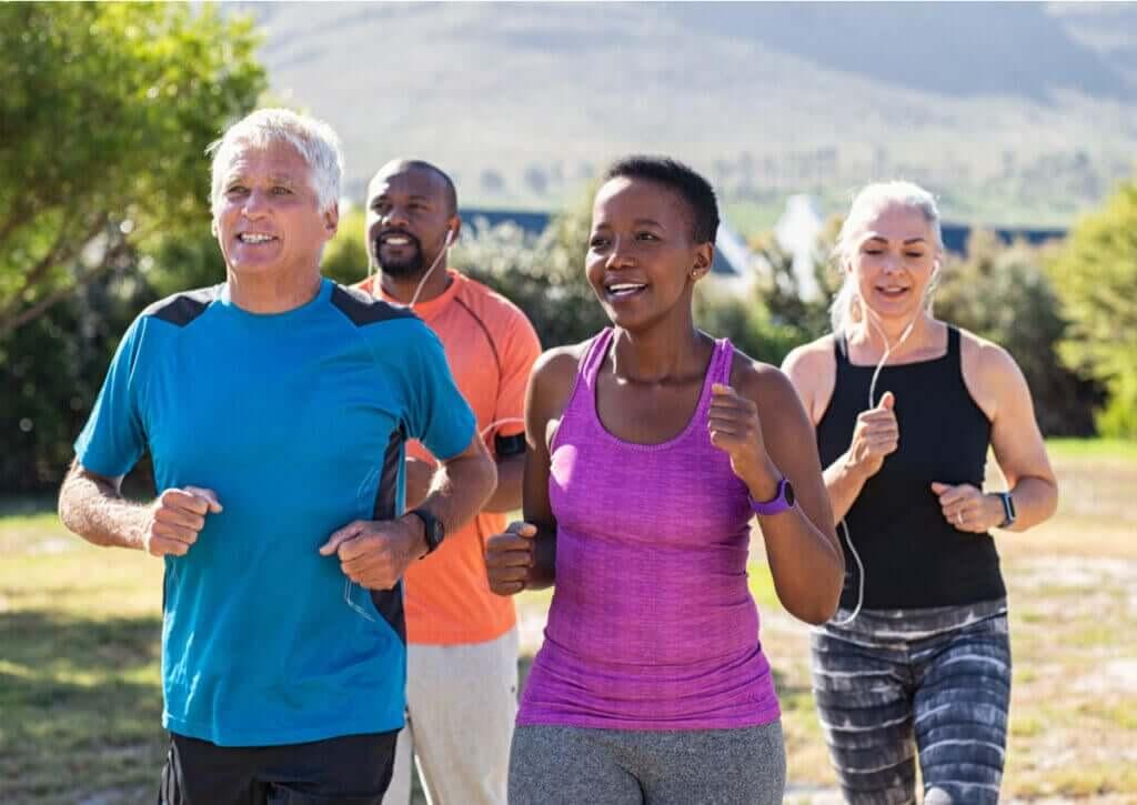 Benefícios da corrida para a saúde mental