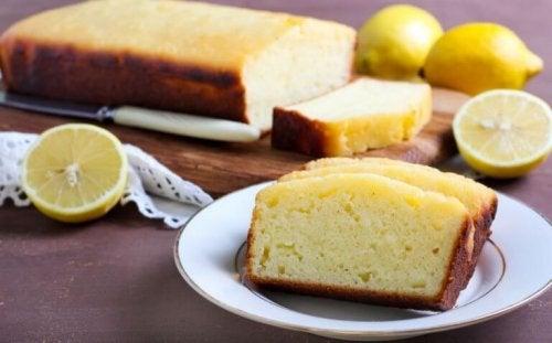 Dilimlenmiş sünger kek