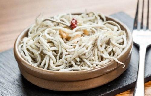 balıklı noodle