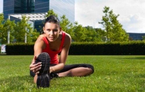 CrossFit rutini öncesi ısınma