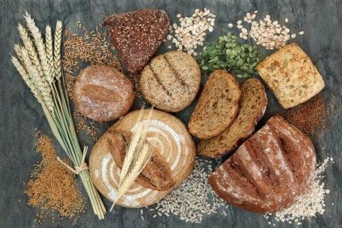 ekmekler ve b6 takviyeleri