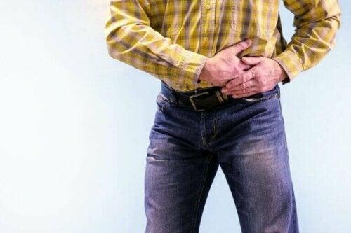 pankreasını tutan adam