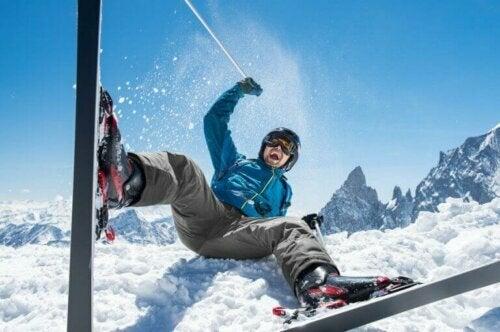 spor sigortası snowboard adam