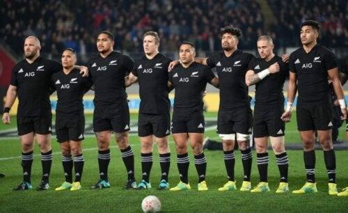 Yeni Zelanda all blacks takımı ve haka