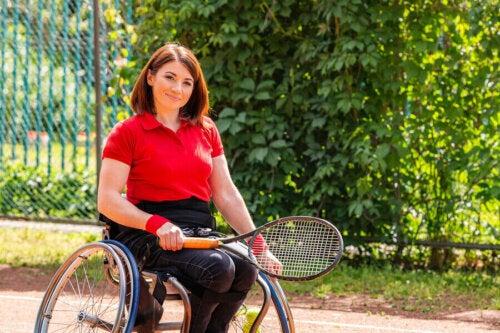 tenis sporcusu