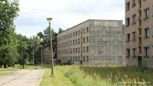 Berlin 1936 Olimpiyat Oyunları için Olimpiyat Köyü.