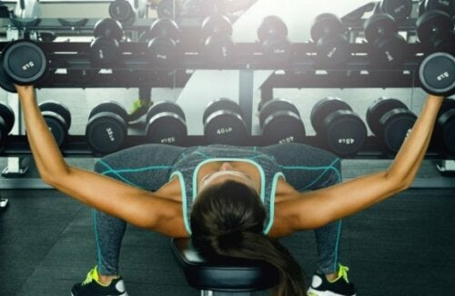 serbest ağırlık egzersizi