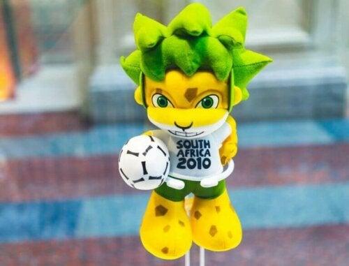 2010 Afrika Dünya Kupası Maskotu Zakumi