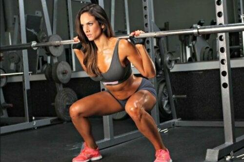 spor yapan kadın