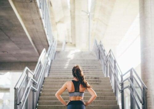 15 Dakikalık Merdiven Çıkma Meydan Okuması